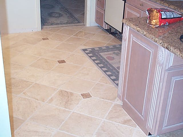 18 in. X 18 in. Chrisled Travertine Diagonal
